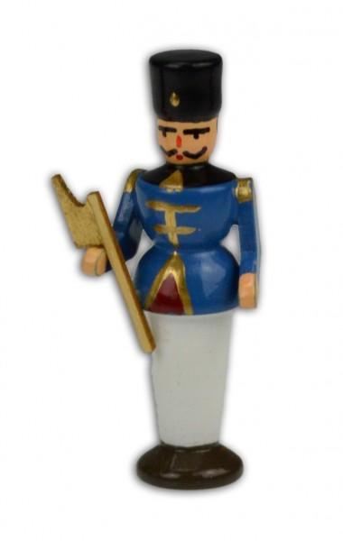 Wolfgang Braun - Miniatur Bergmann Hüttenältester (blau)
