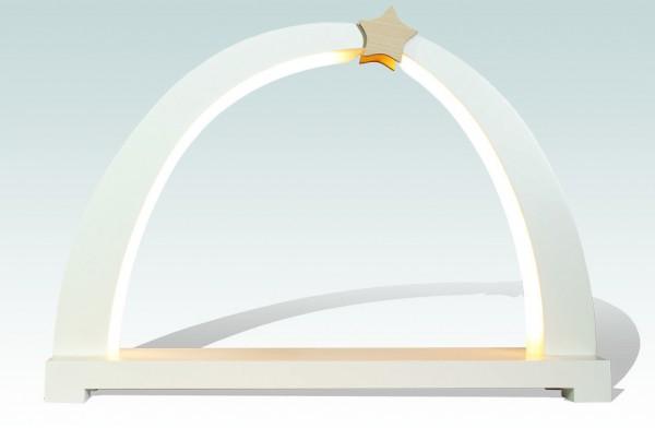 Rauta Edition FG - LED-Schwibbogen unbestückt weiß