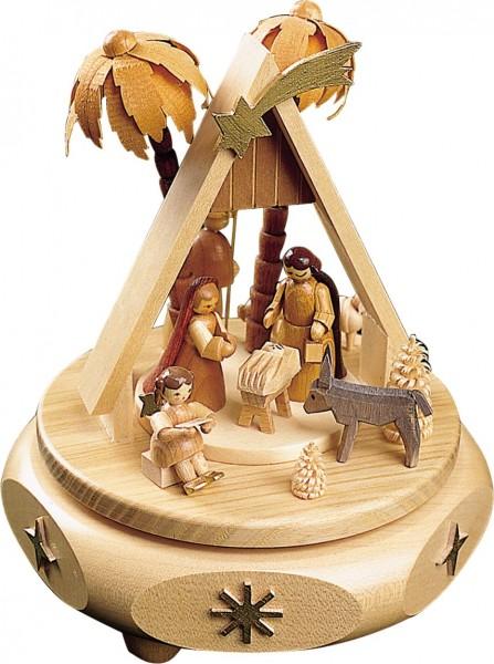 Richard Glässer - Spieldose Christi Geburt, 18er Spielwerk