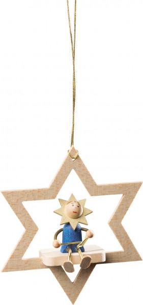 Richard Glässer - Baumbehang Stern natur Sternenkind mit Triangel