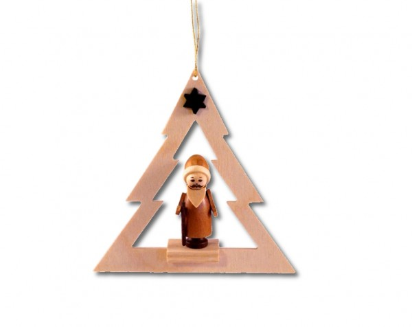 Spielwarenmacher Günther - Baumbehang Weihnachtsmann im Baum