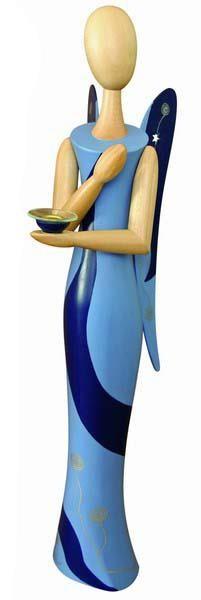 Kollektion Sternkopf - Engel -Blue Desire- 50,- cm