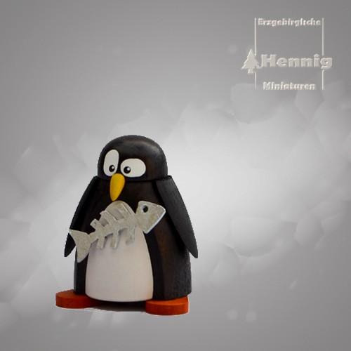 Hennig Figuren - Pinguin mit Fisch