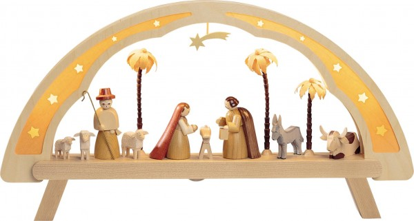 Richard Glässer - LED-Lichterbogen Christi Geburt