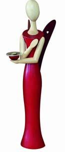 Kollektion Sternkopf - Engel -Red Ruby- 50,- cm