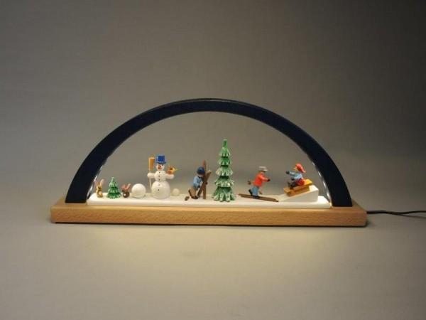 Richard Glässer - LED-Schwibbogen Winterkinder