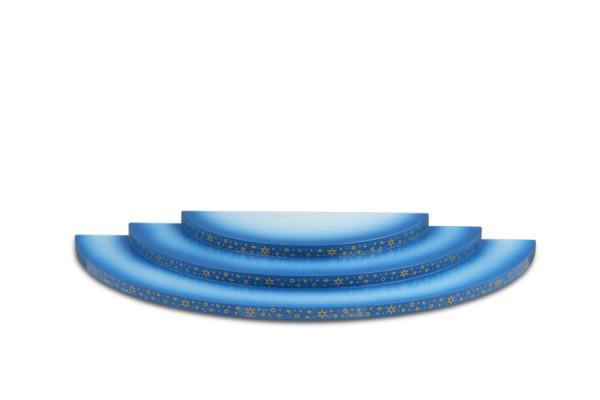 Ellmann - Wolke 3 stufig, blau weiß