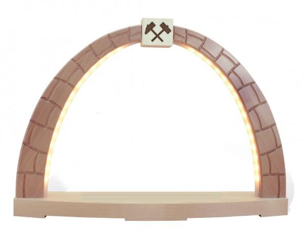 Rauta Edition FG - LED-Schwibbogen Tor-Motiv ohne Bergmänner