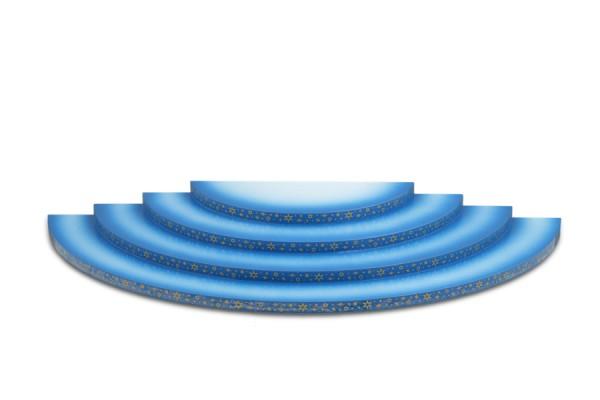 Ellmann - Wolke 4 stufig, blau weiß
