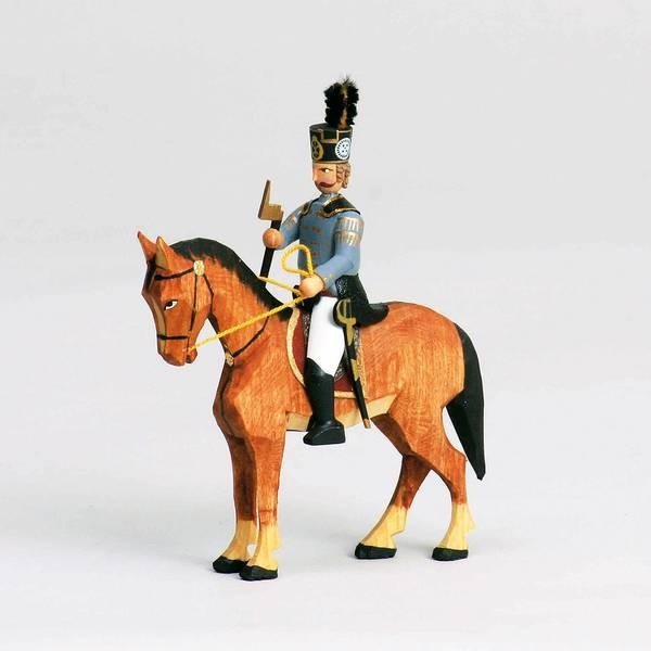 Walter Werner - Hüttengeschworener zu Pferd