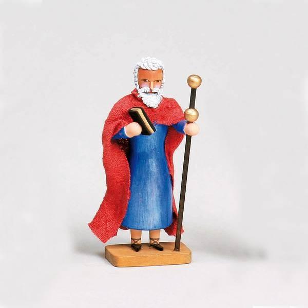 Walter Werner - Apostel Jakobus der Ältere mit Buch und Pilgerstab