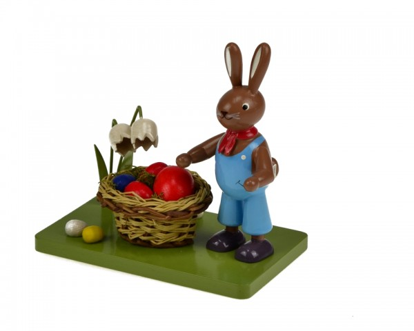 KWO - Hase mit Osternest