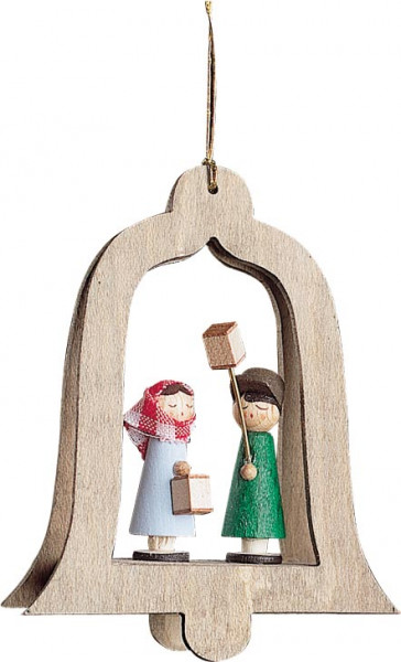 Richard Glässer - Baumbehang Glocken mit Mettenkinder