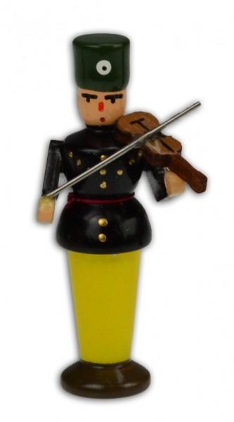 Wolfgang Braun - Miniatur Bergmusikant (Fatzer) mit Geige