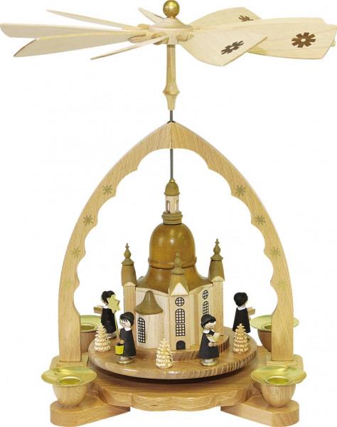 Richard Glässer - Pyramide Frauenkirche mit Kurrende