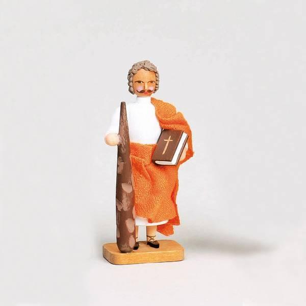 Walter Werner - Apostel Jakobus der Jüngere mit Keule und Buch