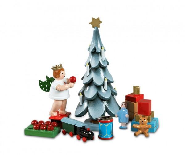 Ellmann - Zubehör für d. Weihnachtsbaum 6 teilig