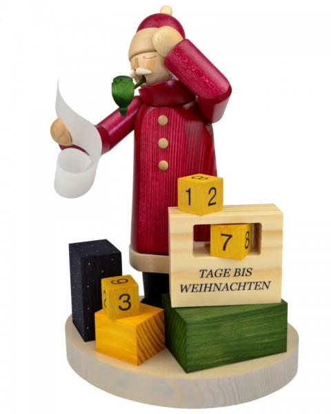 Wolfgang Braun - Räuchermann Weihnachtsmann, Kalender