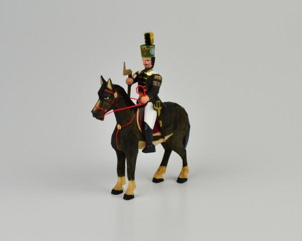 Walter Werner - Berggeschworener zu Pferd Rappe