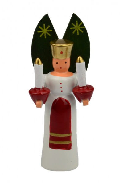 Wolfgang Braun - Miniatur Engel mit Kerzen