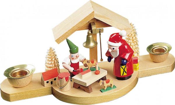Richard Glässer - Kerzenhalter Weihnachtsmann