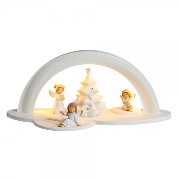 Zeidler - LED Designholzbogen weiß